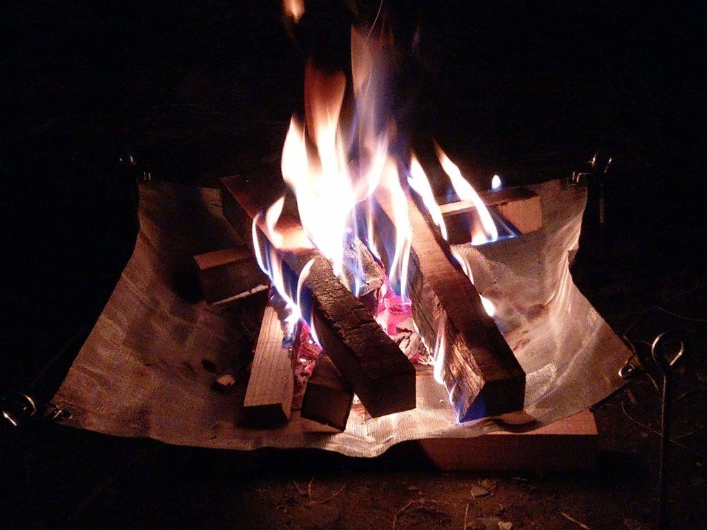 都内で焚き火ができる府中郷土の森公園バーベキュー場