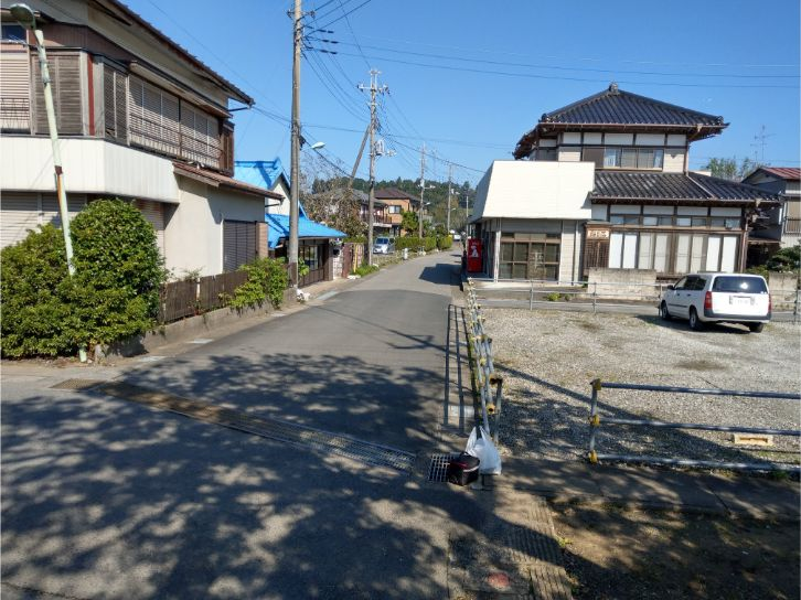 下総万崎駅からの景色