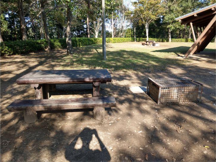 坂田ヶ池総合公園キャンプ場のかまどサイト